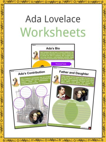 Ada Lovelace Worksheets