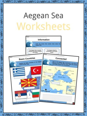 Aegean Sea Worksheets