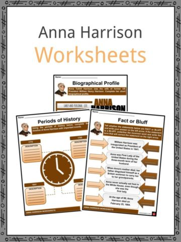 Anna Harrison Worksheets