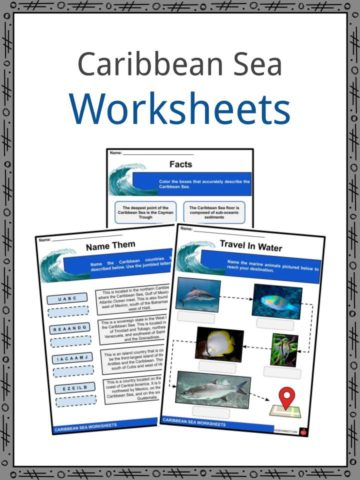 Caribbean Sea Worksheets