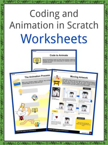 Coding and Animation in Scratch Worksheets