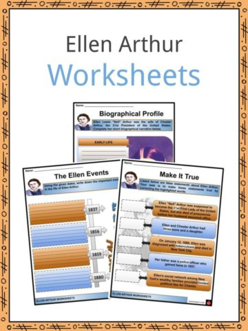 Ellen Arthur Worksheets