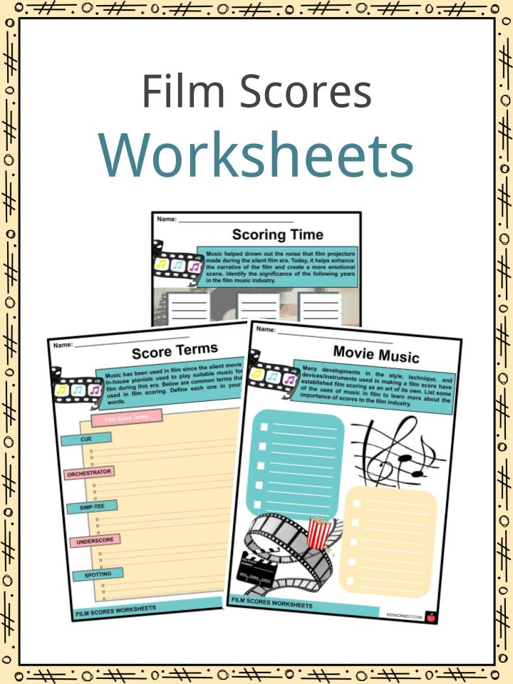 Film Scores Worksheets
