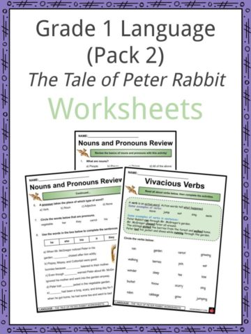 Grade 1 Language (Pack 2) Worksheets