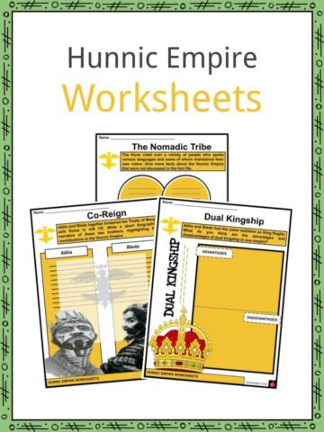 Hunnic Empire Worksheets