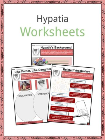 Hypatia Worksheets