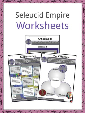 Seleucid Empire Worksheets