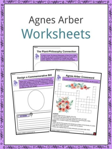 Agnes Arber Worksheets