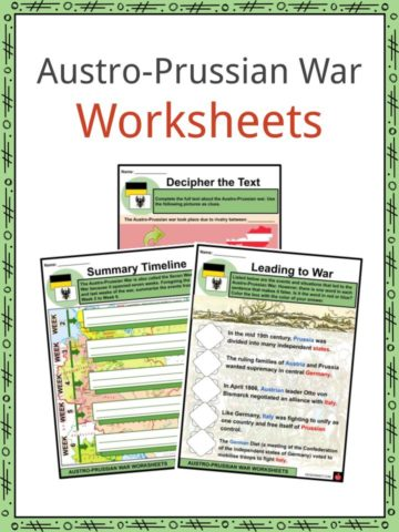 Austro-Prussian War Worksheets