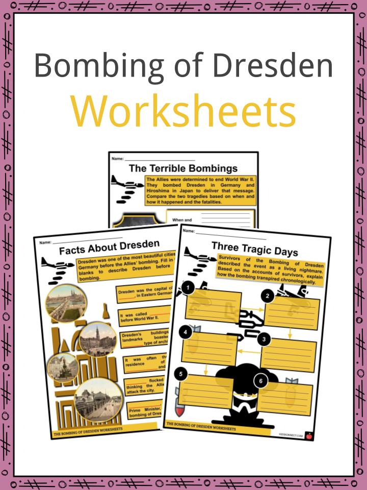 Bombing of Dresden Worksheets