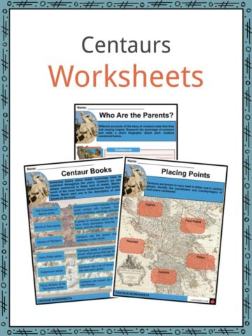 Centaurs Worksheets