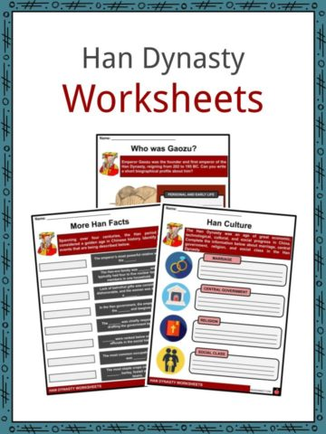 Han Dynasty Worksheets