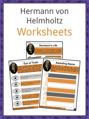 Hermann Von Helmholtz Worksheets