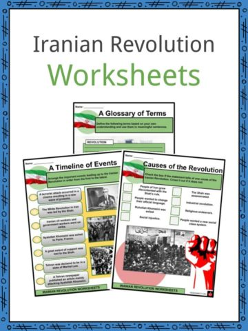 Iranian Revolution Worksheets