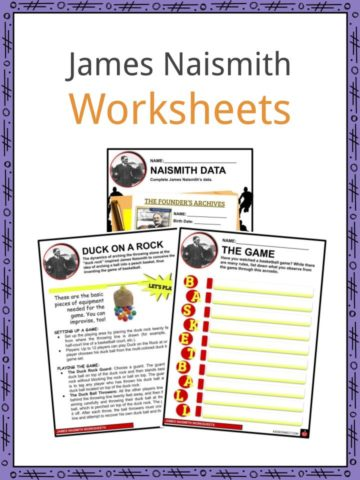 James Naismith Worksheets