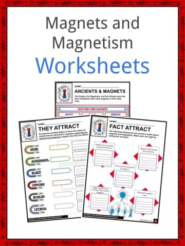 Magnets and Magnetism Worksheets