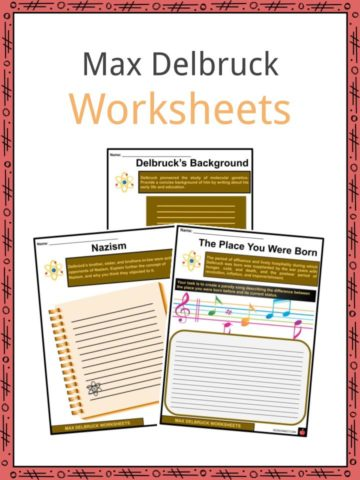 Max Delbruck Worksheets