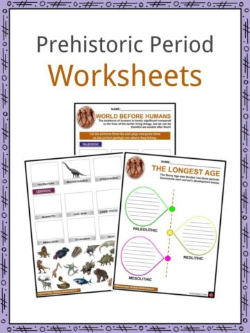 Prehistoric Period Worksheets