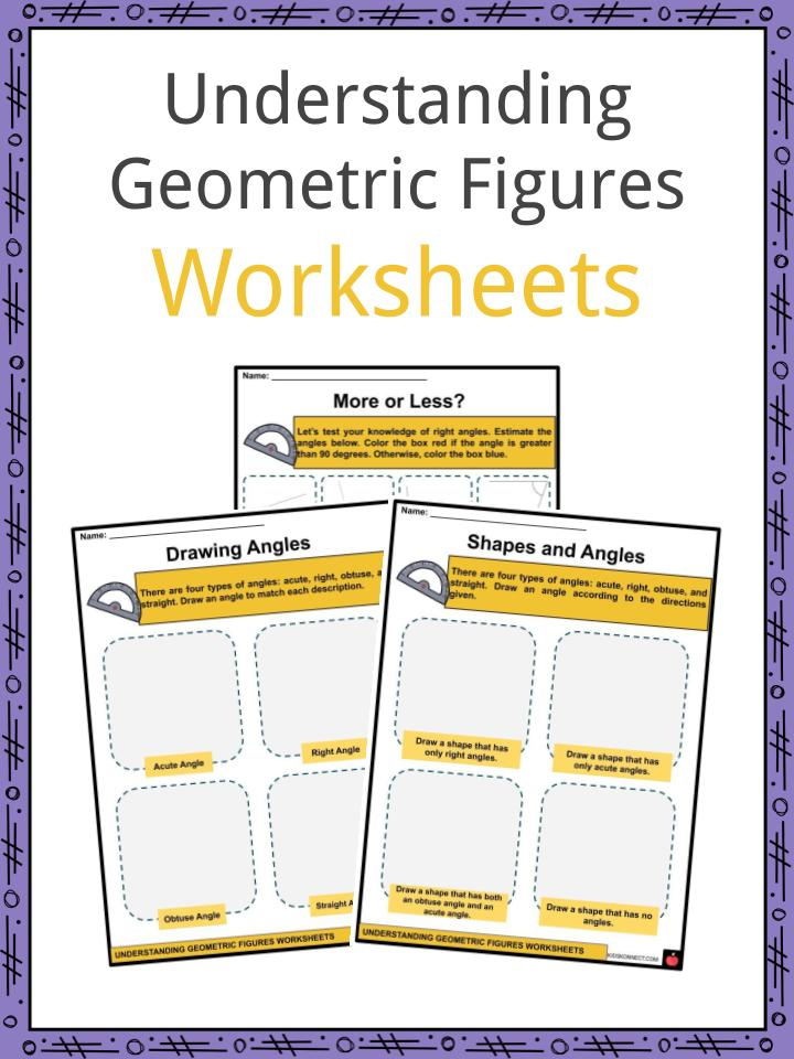 Understanding Geometric Figures Worksheets