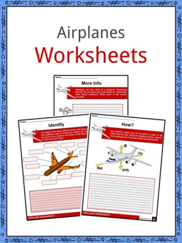 Airplanes Worksheets