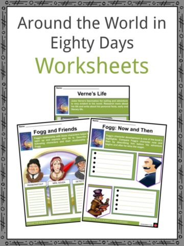 Around the World in Eighty Days Worksheets