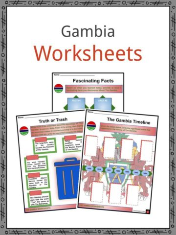 Gambia Worksheets