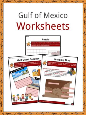 Gulf of Mexico Worksheets