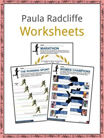 Paula Radcliffe Worksheets