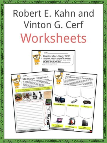 Robert E. Kahn and Vinton G. Cerf Worksheets