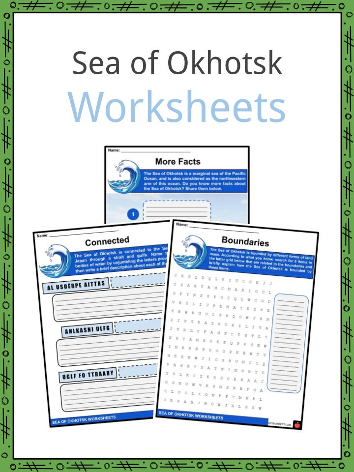 Sea of Okhotsk Worksheets