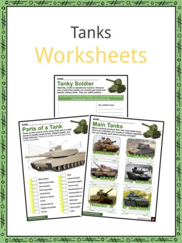 Tanks Worksheets