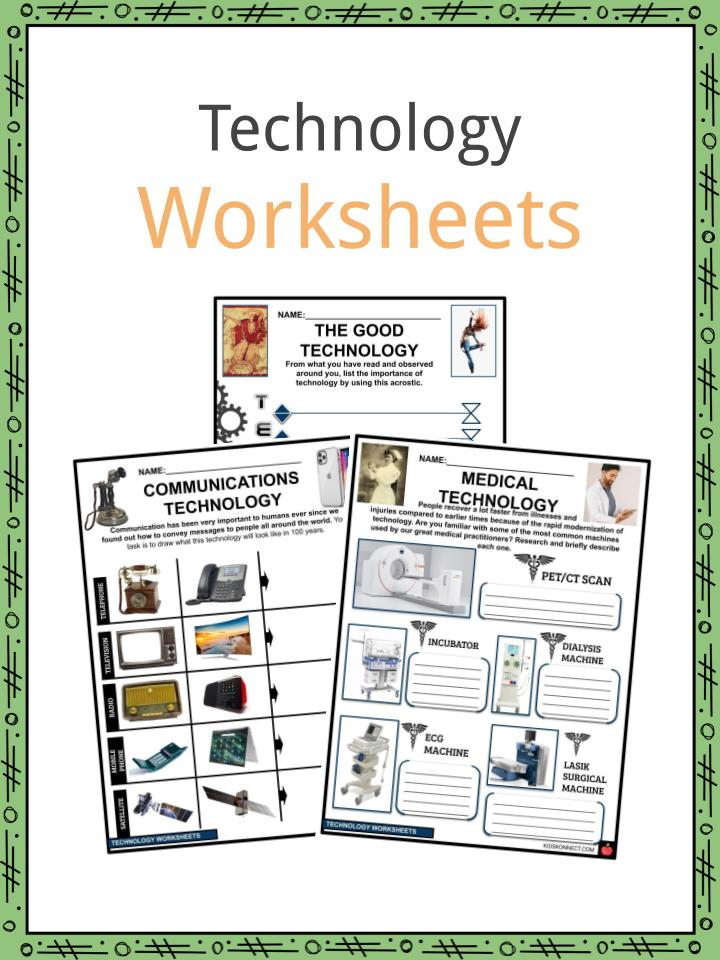 Technology Worksheets
