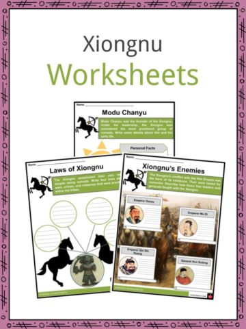 Xiongnu Worksheets