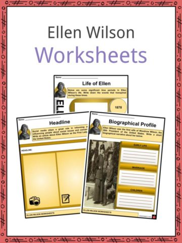 Ellen Wilson Worksheets