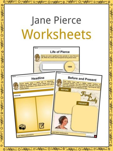 Jane Pierce Worksheets