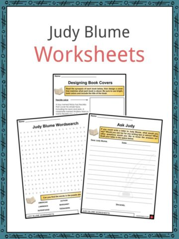 Judy Blume Worksheets