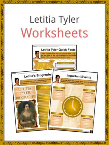 Letitia Tyler Worksheets