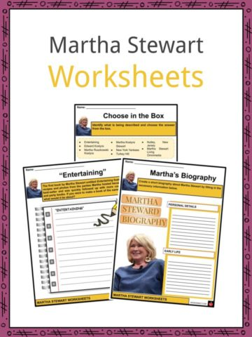 Martha Stewart Worksheets