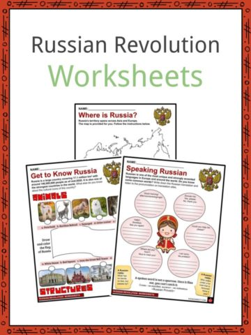 Russian Revolution Worksheets