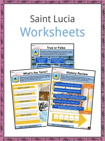 Saint Lucia Worksheets