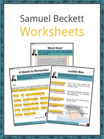 Samuel Beckett Worksheets