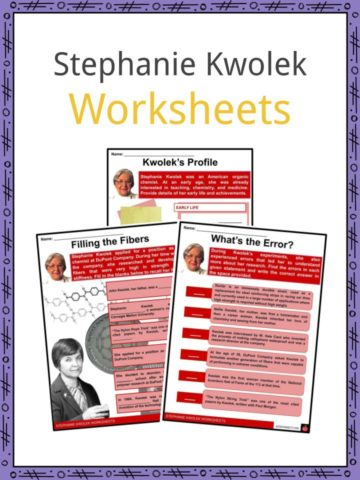 Stephanie Kwolek Worksheets