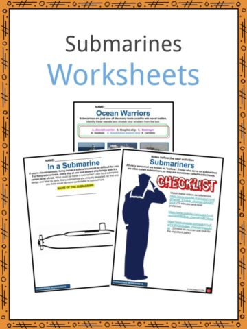 Submarines Worksheets