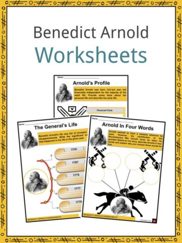 Benedict Arnold Worksheets