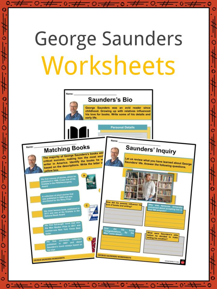 George Saunders Facts, Worksheets, Early Life & Influences For Kids