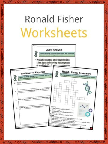 Ronald Fisher Worksheets