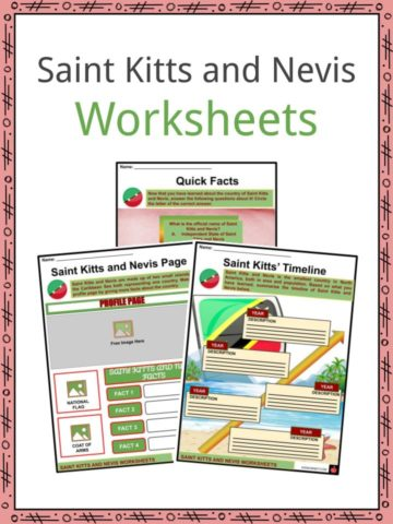 Saint Kitts and Nevis Worksheets