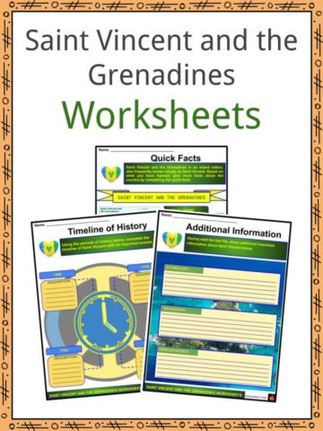 Saint Vincent and Grenadines Worksheets