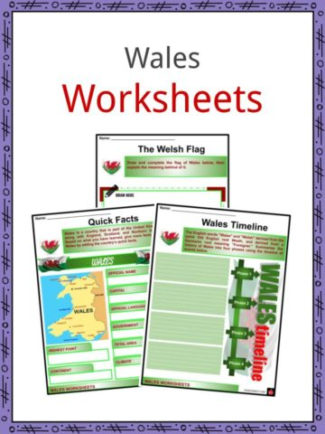 Wales Worksheets