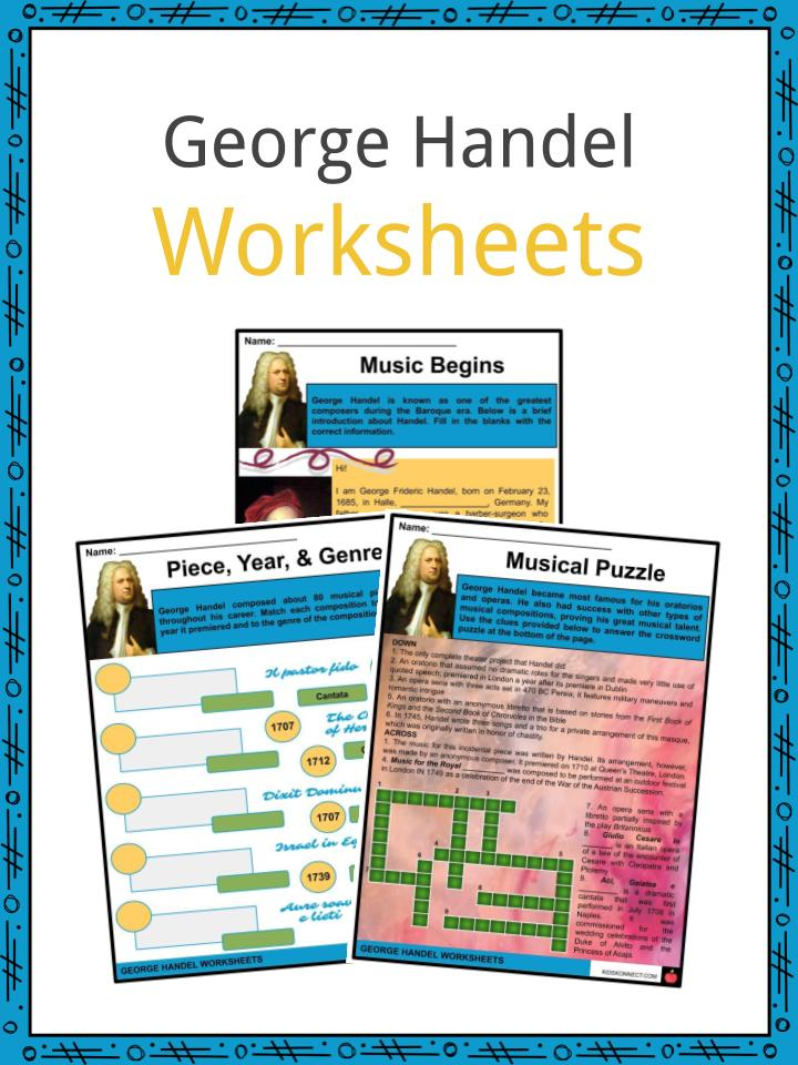 Georg Handel Worksheets